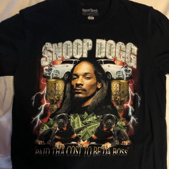 b2dbc937 Zumiez Shirts | Snoop Dogg Paid Tha Cost Tee | Poshmark
